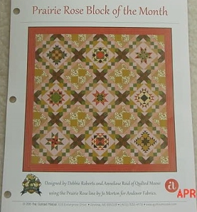 Prairie Rose Pattern