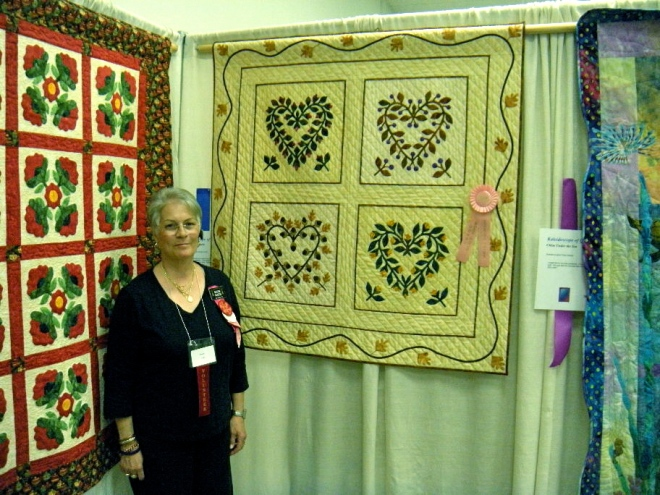 SA Quilt Show Baltimore Hearts 2