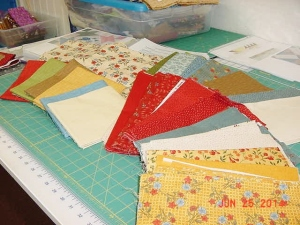 Happy Scrappy Fabric Selection
