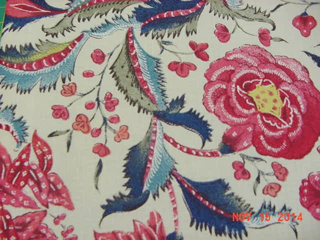 Dutch Chintz Fabric Chopin A Passionate Quilter