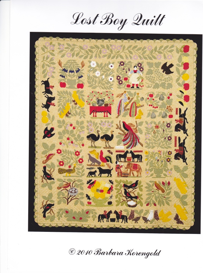 The Lost Boy Quilt