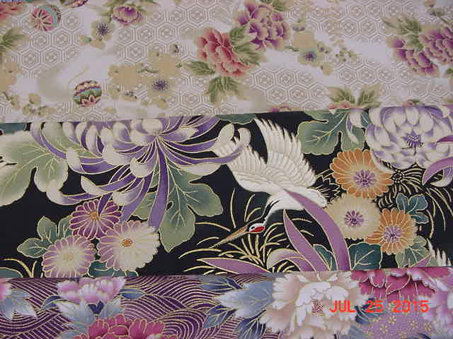 Asian Fabric for Brinton Hall
