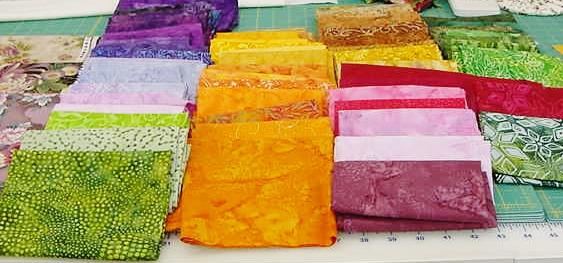 Batiks for Brinton Hall