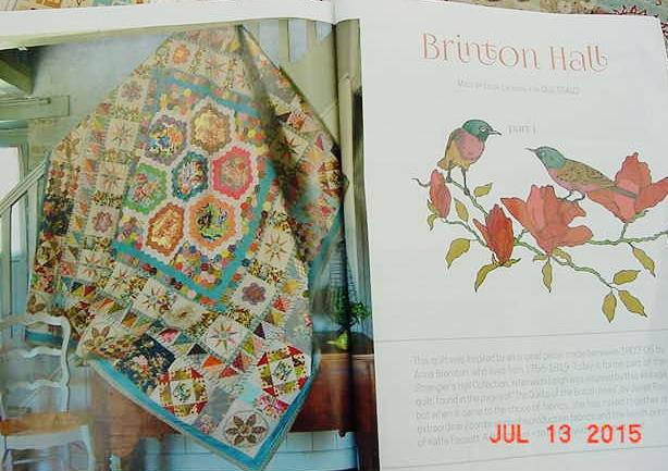 Brinton Hall Quilt