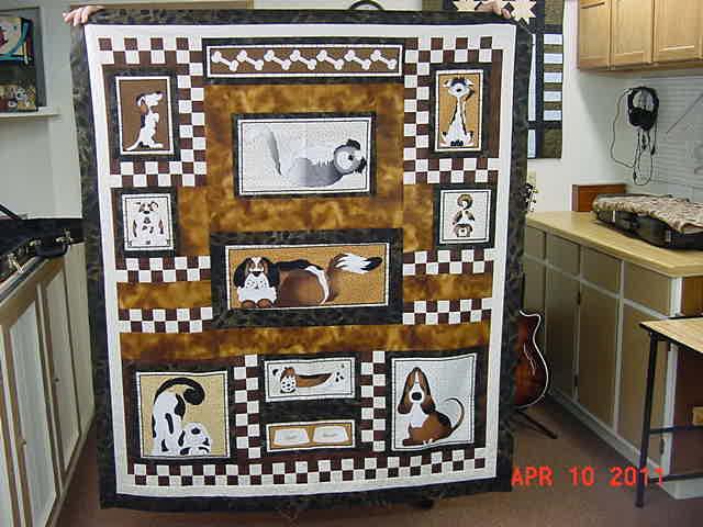 Kohnie's Dog Quilt