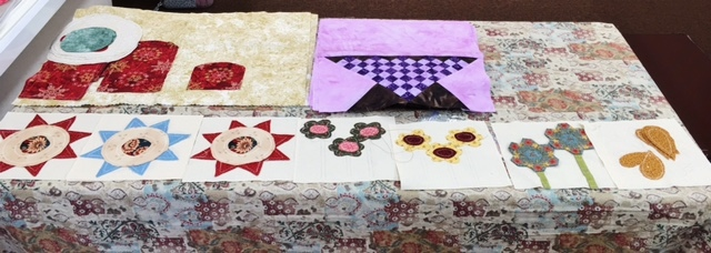 A Lot of Applique - WIPs