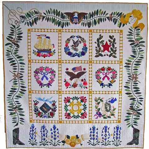 GWBush Quilt by JayDee Price