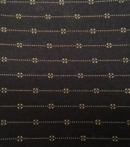 Black Reproduction Fabric