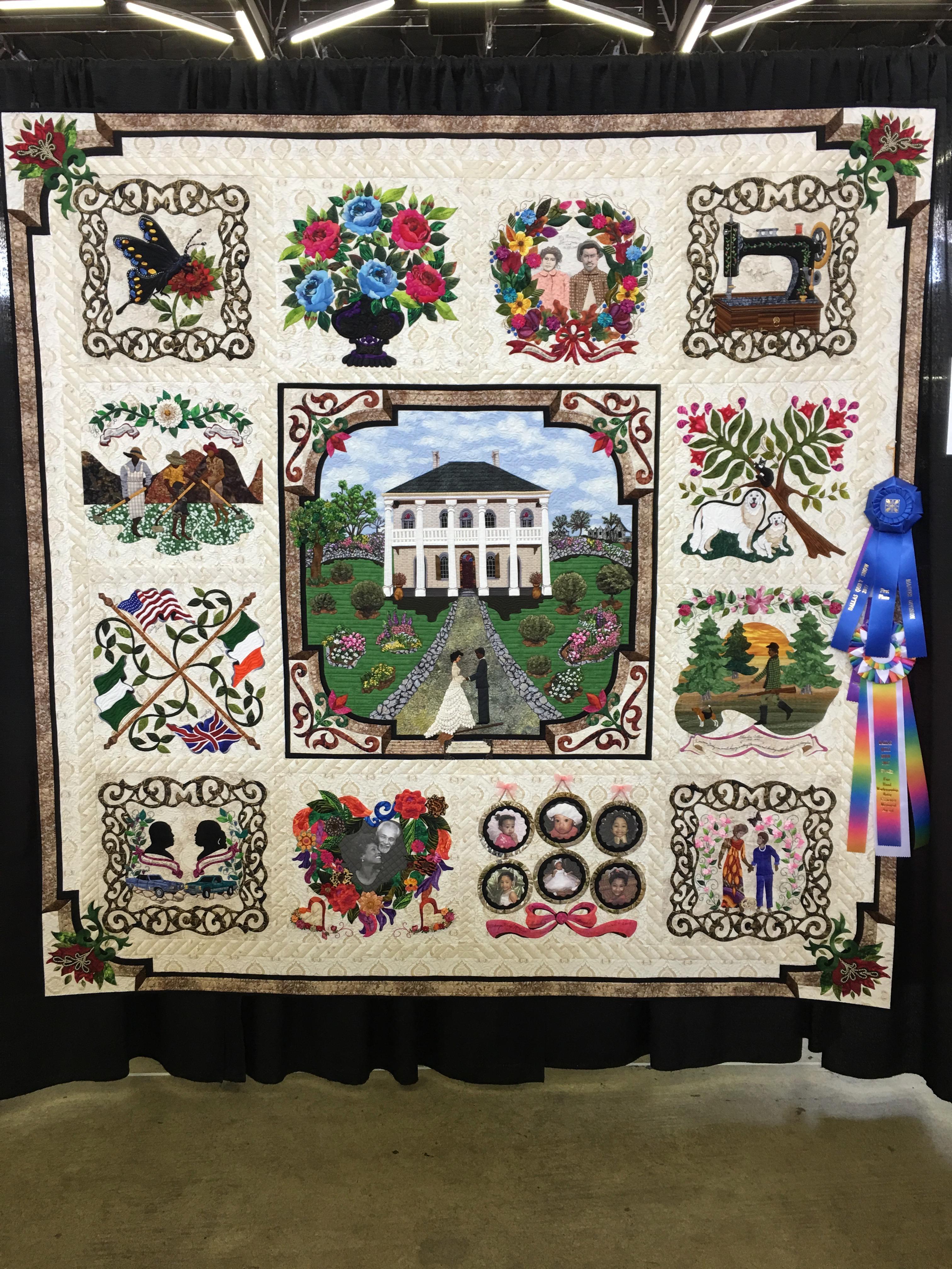 Dallas Quilt Show – Traditional Versus Artisan Quilts – Chopin – A ... : dallas quilt shops - Adamdwight.com