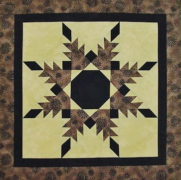 Nanette's 2013 Radiant Feathered Star
