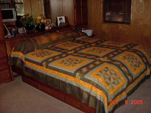 Bedroom Quilt 1