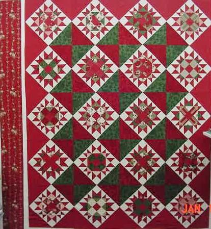 Folk Art Xmas II,III, and IV Fabrics