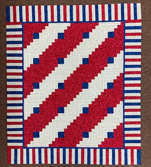 Log Cabin Quilt - 14 July 2019
